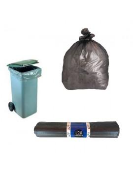 Lot de 5 sacs poubelle spécial containers 120L