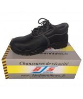 Chaussures basses de sécurité cuir BJS