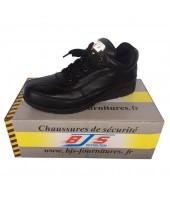 """Chaussures basses de sécurité en cuir """"confort"""" BJS"""