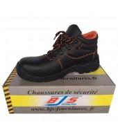 Chaussures montantes de sécurité cuir BJS