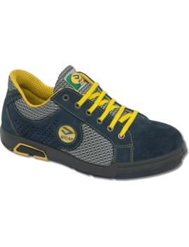 Chaussures basses de sécurité en cuir chamoisé BICAP