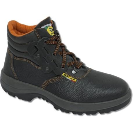 Chaussures montantes de sécurité en cuir imprimé BICAP