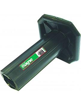 Poignée de protection pour ciseau à brique et burin à section plate Magne
