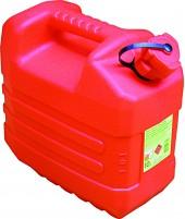Jerrican polyethylene rouge Magne