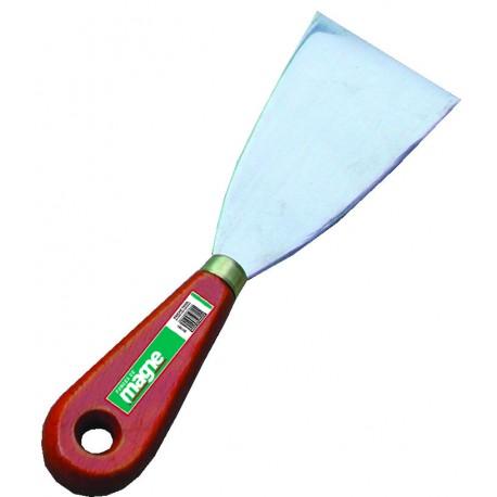 Couteau de peintre inox Magne