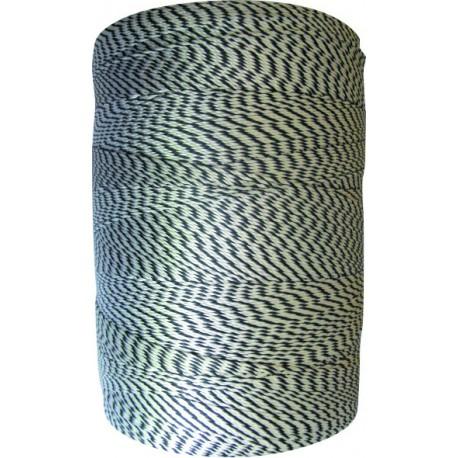 Cordeau polyamide en rolls tirefil câblé bi-colore Magne