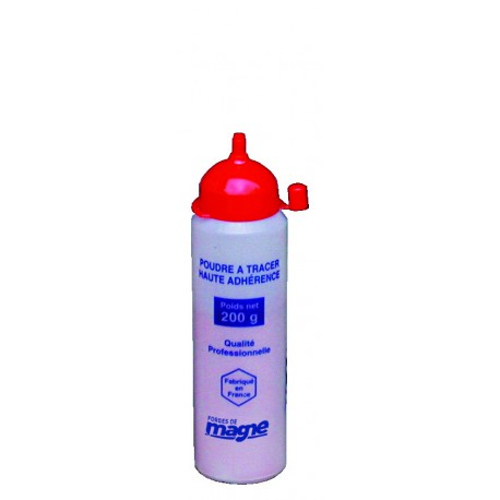 Poudre à tracer rouge haute adhérence 200 g Magne