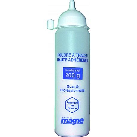 Poudre à tracer blanche haute adhérence 200 g Magne