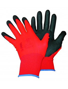 Gants à enduction polyamide rouge Magne