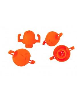 Embout de sécurité et repérage orange