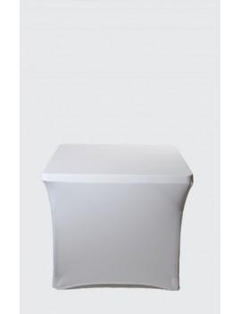Housse Spandex pour table pliante carrée 87 cm x 87 cm