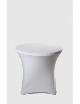 Housse Spandex pour table pliante ronde Ø 80 cm