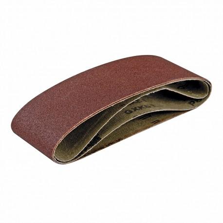 5 bandes abrasives grain 80
