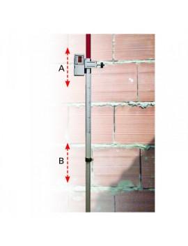 Tige télescopique 2,4 m pour détecteur