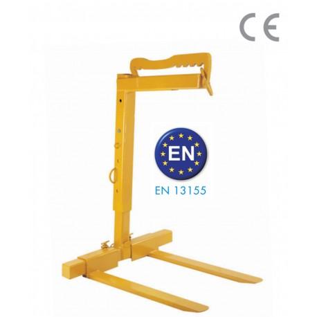 Lève-palette réglable 1 500 kg