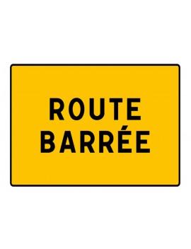 """Panneau seul KC1 21P """"Route barrée"""""""