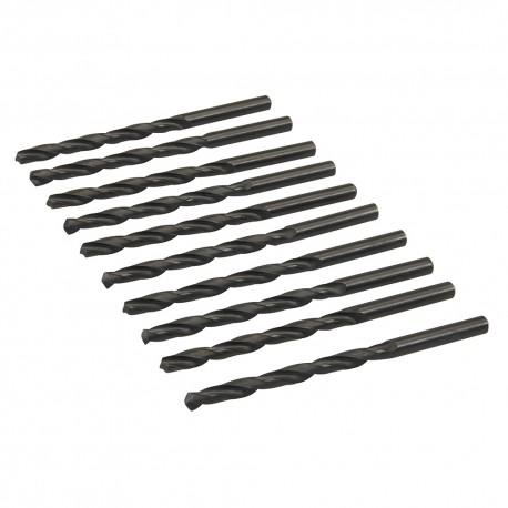 10 mèches métriques acier rapide HSS-R