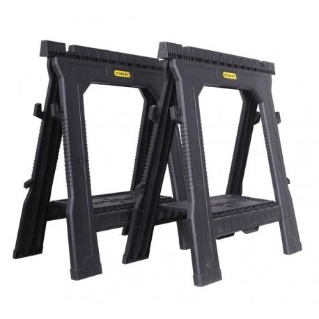 Tréteau pliable - 450 kg/paire - lot de 2 pièces