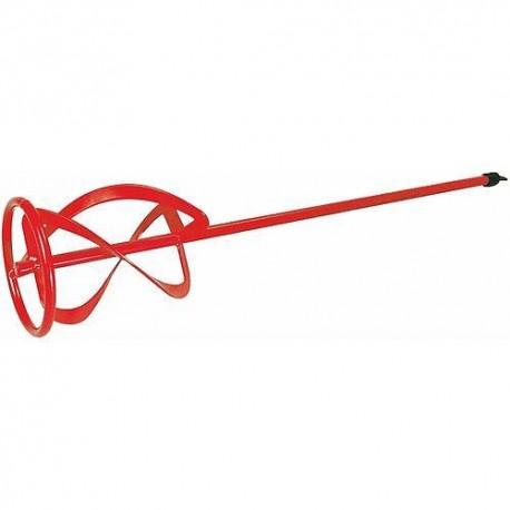 Malaxeur Ø 120 mm tige hexagonale à usage intensif