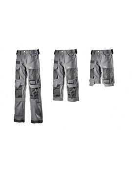 Pantalon long, pantalon¾ ou bermuda gris