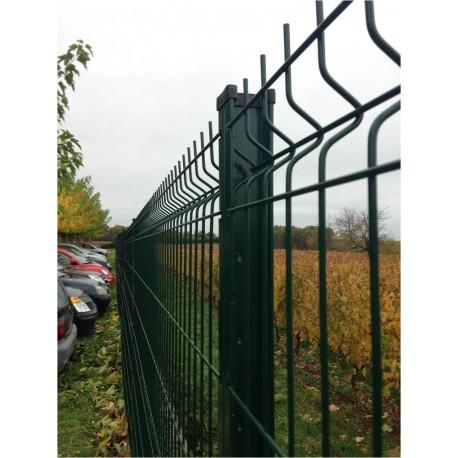 Poteau à encoches pour clôture 1,73 m