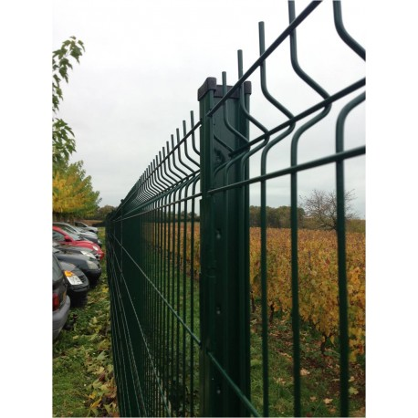 Poteau à encoches pour clôture 2,03 m