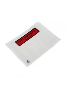 Pochettes adhésives documents ci-inclus 225 X 110 boite de 1000