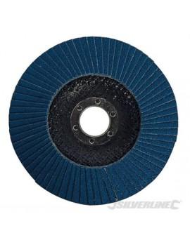 Disque à lamelles en zirconium 125 mm grain 40
