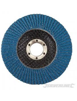 Disque à lamelles en zirconium 115 mm grain 80