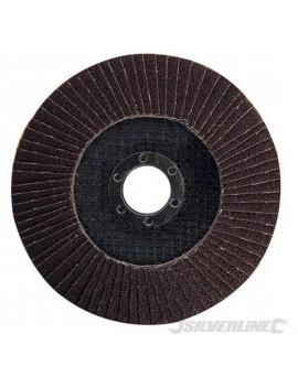 Disque à lamelles corindon 125 mm grain 60