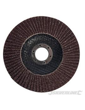 Disque à lamelles corindon 125 mm grain 80