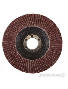 Disque à lamelles corindon 115 mm grain 60