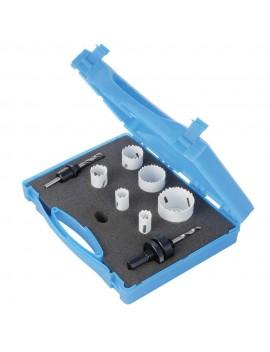 Coffret d'électricien scies-cloches bi-métal 9 pcs