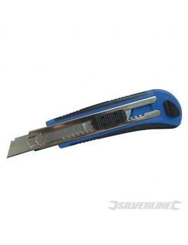 Cutter à lame sécable auto-rechargeable 18 mm