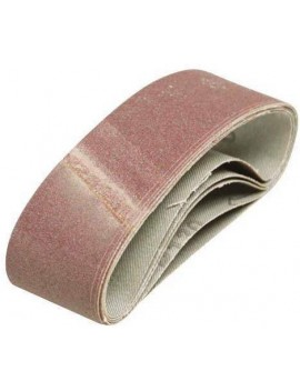 Lot de 5 bandes abrasives 100 x 610 mm Grain 40