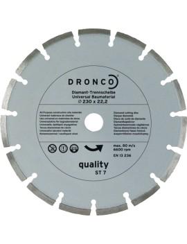 Disque universel materiaux 230 mm DRONCO