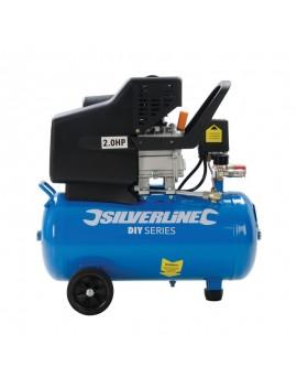 Compresseur d'air électrique 2 ch, 1500 W 24 L