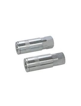 Coupleur rapides pour tuyau air comprimé, 2 pcs