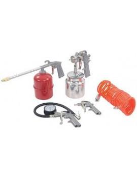 Coffret d'accessoires pour outils pneumatiques , 5 pcs