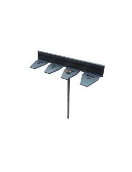 Flexiline Flexible PE Noir 4*230cm ( 3 ancres )