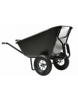 brouette EXPERT TWIN EXCELLIUM noire 300 L