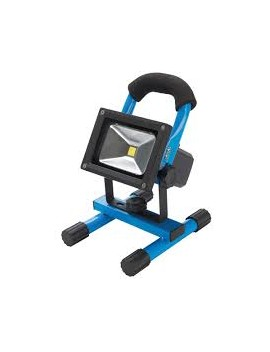 Projecteur de chantier LED rechargeable avec port USB