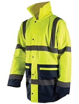 Veste bicolore haute visibilité - classe 3 Taille XL (108 - 116 cm)