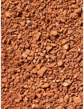 Gravier brique pilée 4-12 sac de 19 Kg