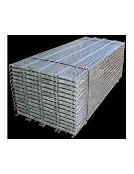 Lot de planchers en acier 3000 x 300 pour échafaudage