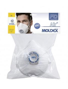 masque air FFP2 avec valve sous blister
