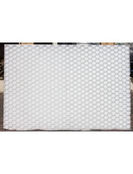 Plaque alvéolées Grava-Stab Blanche 120*80*3cm