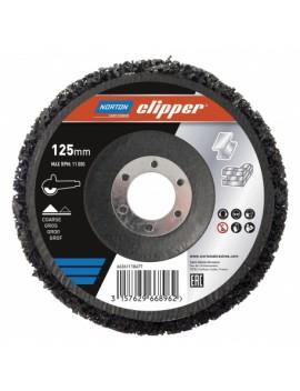 Disque abrasif rapid Strip 125 mm NORTON CLIPPER