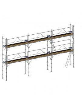 ECHAFAUDAGES DE FACADE 60 m2 planchers acier