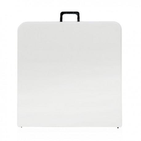 Table rectangulaire pliante en malette de 122 cm x 61 cm BJS